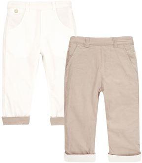 Tartine et Chocolat Reversible Corduroy Trousers