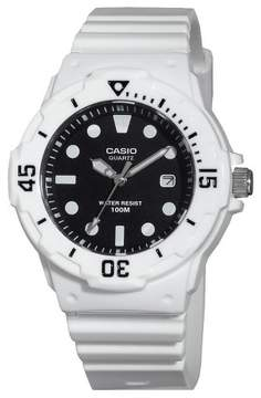Casio Women's Diver Watch White (LRW200H-1EVCF