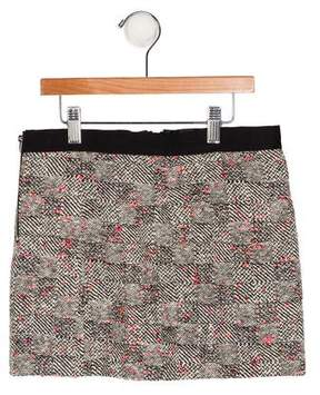 Milly Minis Girls' Tweed A-Line Skirt w/ Tags