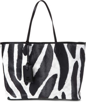 Steve Madden Lindy Animal Print Large Tote