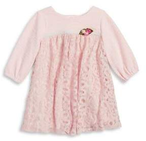 Laura Ashley Little Girl's Knit Sweater Dress