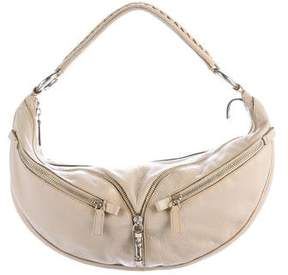 Versace Grained Leather Hobo