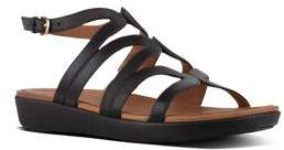 FitFlop Strata TM Leather Gladiator Sandals