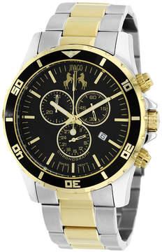 Jivago Mens Two Tone Bracelet Watch-Jv6129