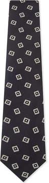 Drakes Diamonds silk tie