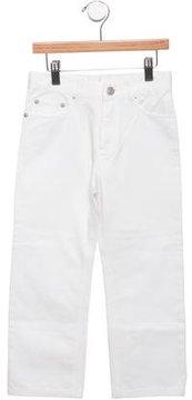 Bonpoint Boys' Straight-Leg Mid-Rise Jeans