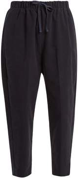 Chimala Relaxed-leg cotton-blend moleskin trousers
