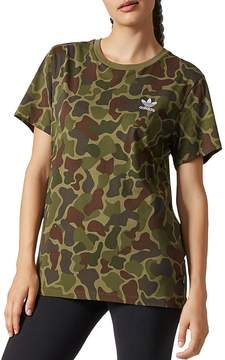 adidas Pharrell Williams Camo Logo Tee