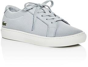 Lacoste Boys' L.12.12 Piqué Knit Lace Up Sneakers - Toddler, Little Kid