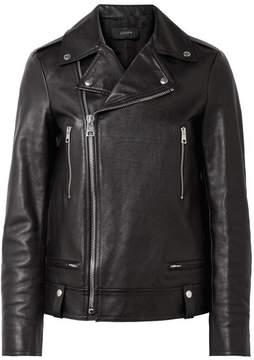 Joseph Ryder Leather Biker Jacket - Black