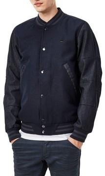 G Star Men's Rackam Wool Bomber Jacket