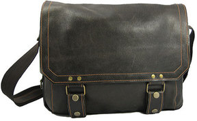 David King Leather 6112 East/West Messenger