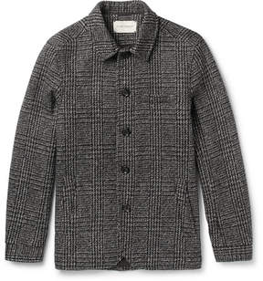 Oliver Spencer Slim-Fit Houndstooth Wool Portobello Jacket