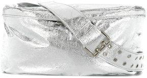 Mm6 Maison Margiela metallic belt bag