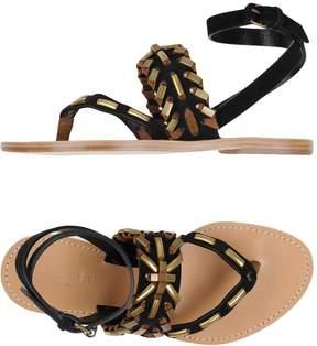 Alberta Ferretti Toe strap sandals