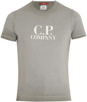 C.P. Company Logo-print cotton T-Shirt