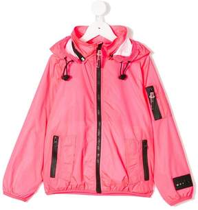 Diadora Junior rainwear zip up jacket
