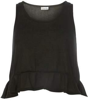 Vero Moda **Vero Moda Black Frill Vest