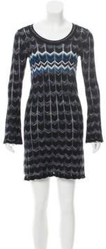 Autumn Cashmere Long Sleeve Knit Mini Dress