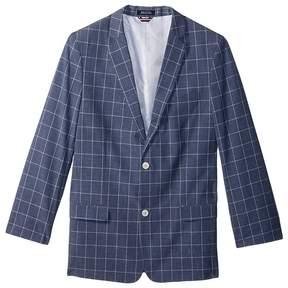 Tommy Hilfiger Straited Windowpane Blazer Boy's Jacket