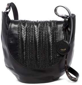 The Sak Bailard Leather Saddle Bag