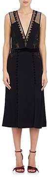 A.L.C. Women's Harlow Combo V-Neck Dress