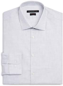 John Varvatos Heathered Slim Fit Dress Shirt
