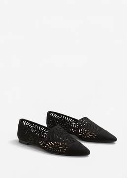 MANGO Die-cut design shoes