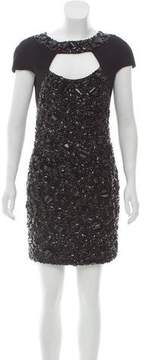 Elie Saab Embellished Mini Dress w/ Tags