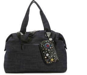 Steve Madden Women's Denim Weekender Bag