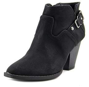 G by Guess Pike Women Round Toe Synthetic Black Ankle Boot.