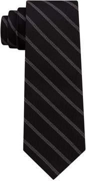 DKNY Men's Level Stripe Silk Slim Tie