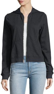 Allen Allen Cotton Zip-Front Jacket
