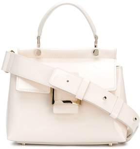 Roger Vivier Viv Cabas Mini Patent Leather Shoulder Bag