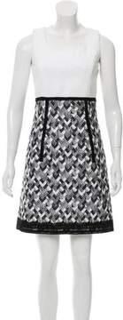 Andrew Gn Patterned Mini Dress