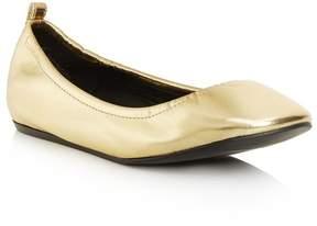Lanvin   Classic Ballet Flat   6 us   Gold