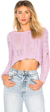 Lovers + Friends Distress Me Out Sweater