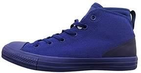 Converse Unisex Mens Chuck Taylor All Star Syde Street Mid Fashion Sneaker Shoe, True Indigo/True Indigo, 11