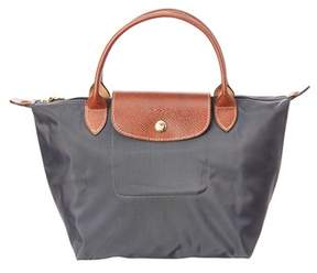 Longchamp Le Pliage Small Nylon Top Handle. - GUN METAL - STYLE