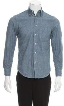 Gitman Brothers Chambray Button-Up Shirt