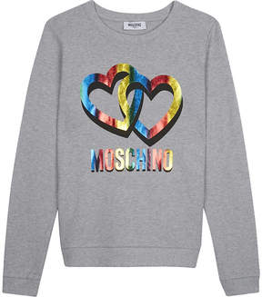 Moschino Cotton heart jumper 4-14 years
