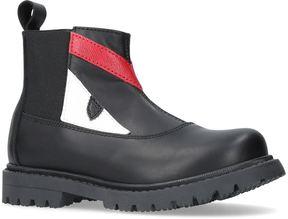 Fendi Monster Eye Ankle Boots