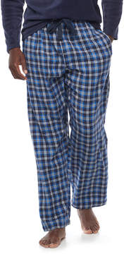 Chaps Big & Tall Plaid Flannel Lounge Pants