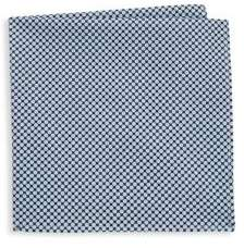 Hickey Freeman Printed Circles Cotton Handkerchief