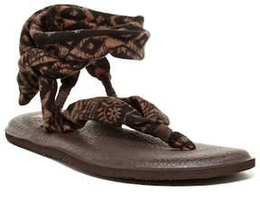 Sanuk Yoga Slinged Up Ankle Tie Sandal