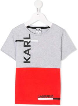 Karl Lagerfeld Big logo T-shirt