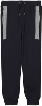 BOSS Embroidered logo piqué cotton jogging bottoms 4-16 years