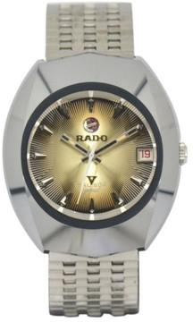 Rado Balboa Stainless Steel & Tungsten Automatic Vintage 35mm Mens Watch