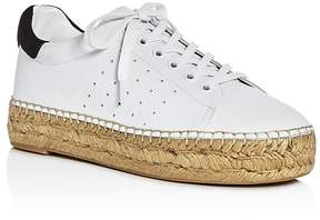 Marc Fisher Mandi Espadrille Lace Up Sneakers