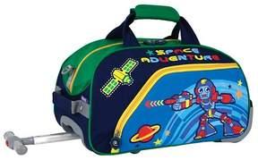 J World J-World Robot Kids Duffel Bag - Blue